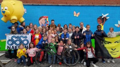 Oliver Naesen te gast in Sint-Franciscusschool