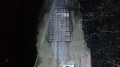 Brand verwoest beschermde trappentoren