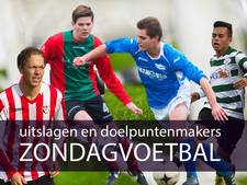 Voetbaloverzicht 30 april 2017