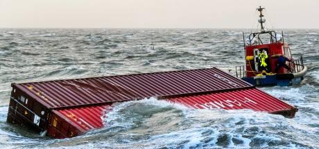 Berging verloren containers Waddengebied begint vandaag: 'Grijper eindelijk het water in'
