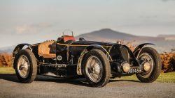 Voormalige Bugatti van koning Leopold III moet 11 miljoen euro opleveren
