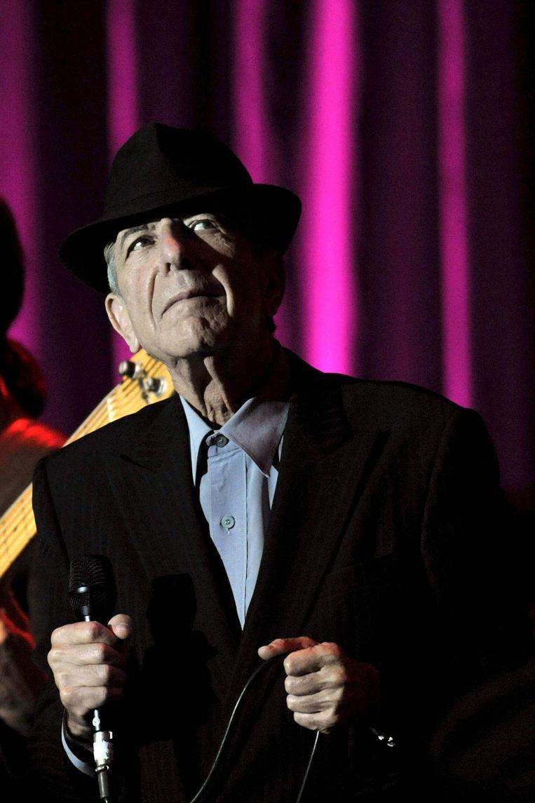 Leonard Cohen. Beeld epa