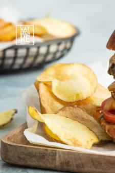 Wat Eten We Vandaag: Cheese & onion burgers
