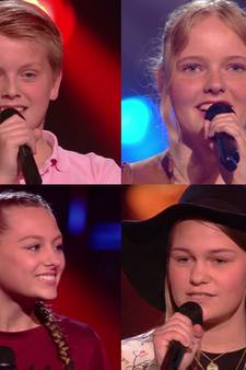 Deze 4 Twentse zangtalenten zijn door in The Voice Kids