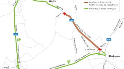 Steenweg op Hoogstraten en Langenberg krijgen nieuw wegdek