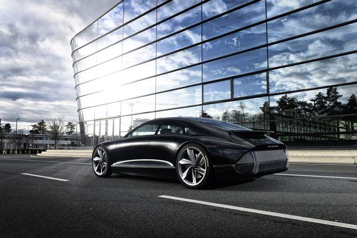 Hyundai nieuwe stijl: het merk kondigt zelfs elektrische auto's aan met 600 pk, mogelijk in de stijl van deze Prophecy concept car