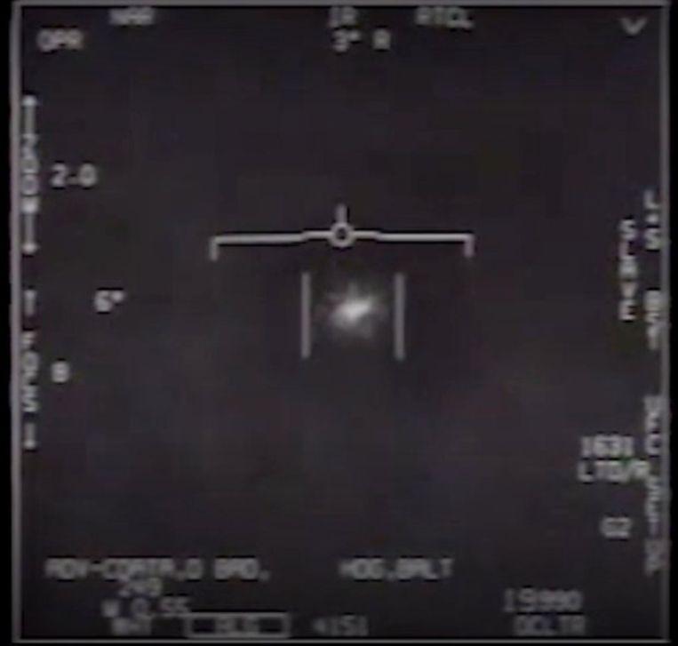 Twee gevechtspiloten zagen in 2014 hoe een mysterieus vliegend voorwerp ongeziene snelheden haalde.