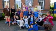 Mientje is 1.000ste leerling Academie voor Schone Kunsten