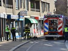 Gevel in brand aan Haagdijk in Breda