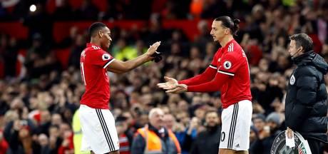 United maakt indruk bij rentree van herstelde 'leeuw' Zlatan