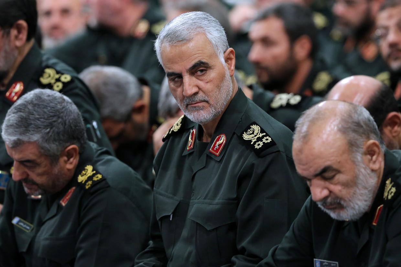 Generaal Qassem Soleimani. Beeld AFP