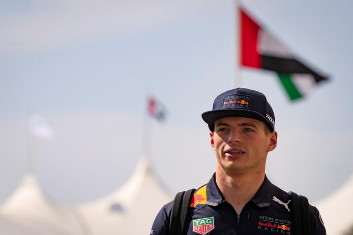 Max Verstappen is teleurgesteld na de kwalificatie voor de Grand Prix van Abu Dhabi.