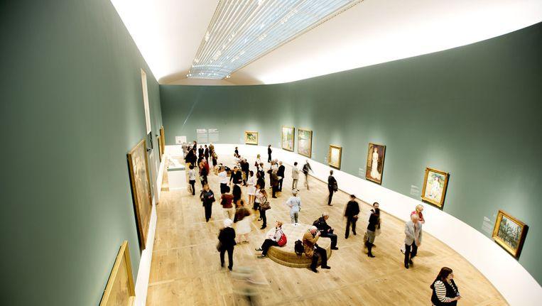 Bezoekers in Hermitage Amsterdam. Beeld ANP