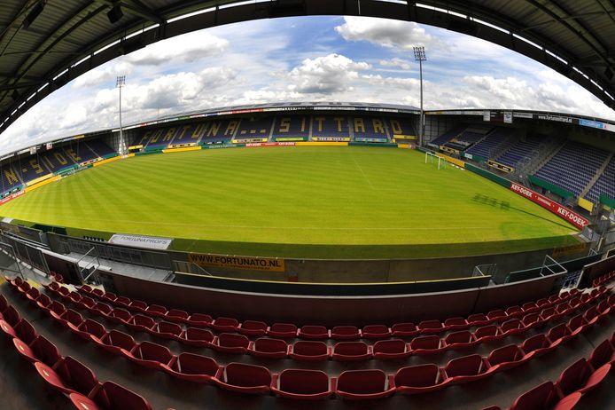 Het stadion van Fortuna Sittard