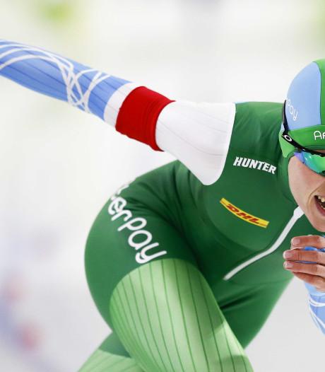 De Jong dankzij goede 1000 meter ruim aan de leiding op NK sprint