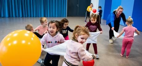 Spelenderwijs leren volleyballen in 'speeltuin' Switch