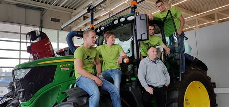 Boxtels' team vertegenwoordigt Nederland tijdens de AgrOlympics