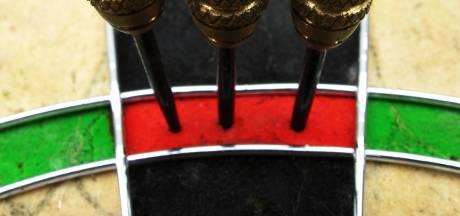Wessel mikte zijn pijlen bewust naast de dubbel