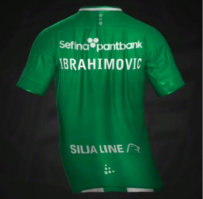 Het shirt dat Zlatan twitterde