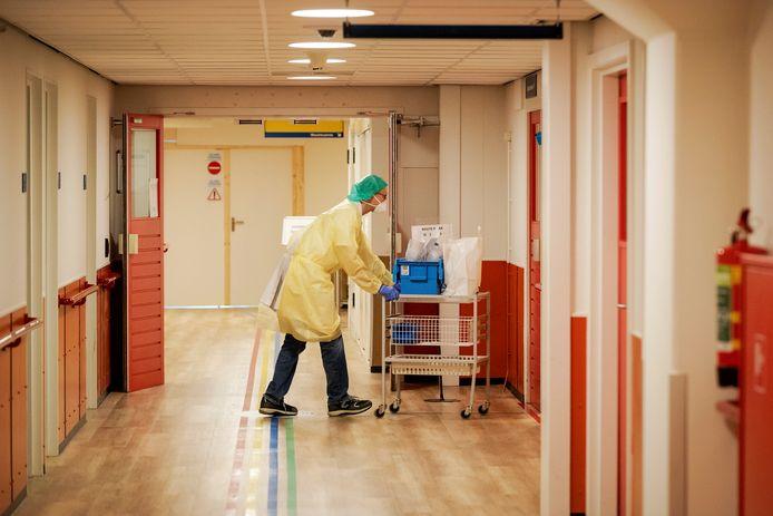 Een medewerker in UMC Utrecht.