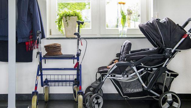 Op dit moment zorgen 300.000 Nederlanders voor hun demente naaste, soms worden ze in huis bij het gezin