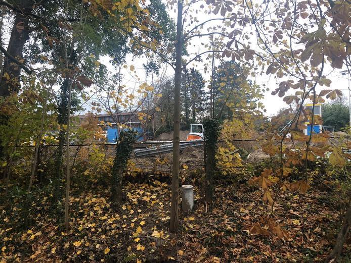 Hier in Terheijden worden ook nieuwe kleed- en wasruimten gebouwd.