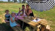Gezellig picknicken in mooi kader en tegelijk goed doel steunen: het kan bij boerderij Vercammen