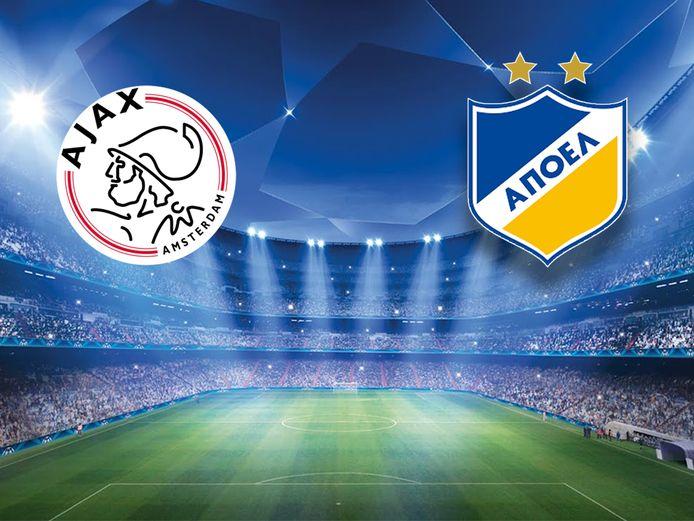 Ajax tegen APOEL Nicosia