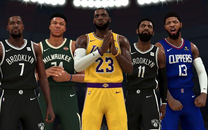 De game NBA 2K20 is een uitkomst nu de coronacrisis ook de reguliere basketbalcompetitie in de Verenigde Staten plat heeft gelegd.