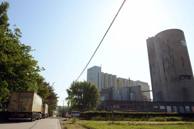 De Cargill mouterij in Herent