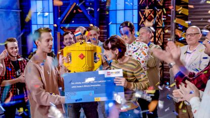 Lola en Jan winnen 'Lego Masters'