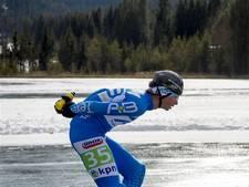 Niels Mesu houdt kans op eindzege na massasprint