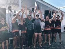 Rugbyers Oemoemenoe pakken Nederlandse beachtitel