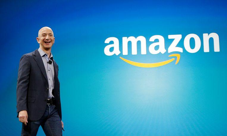 Amazon-baas Jeff Bezos.