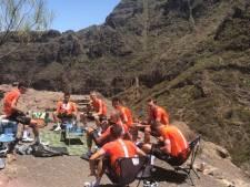 Un cyclotouriste néerlandais fait une rencontre inattendue à Tenerife