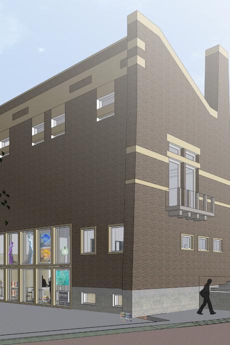 Winy Maas ziet het helemaal zitten: woningen met hotel op Markt in 'zijn' Schijndel