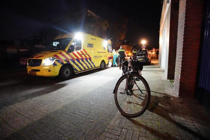Ongeval op de Heezerweg in Eindhoven.