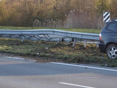 Botsing op A50 bij Sint-Oedenrode, niemand naar ziekenhuis