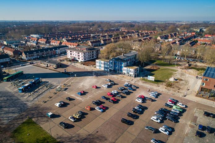 De Deel in Emmeloord, op de foto vóór de werkzaamheden, kan bijna weer open.