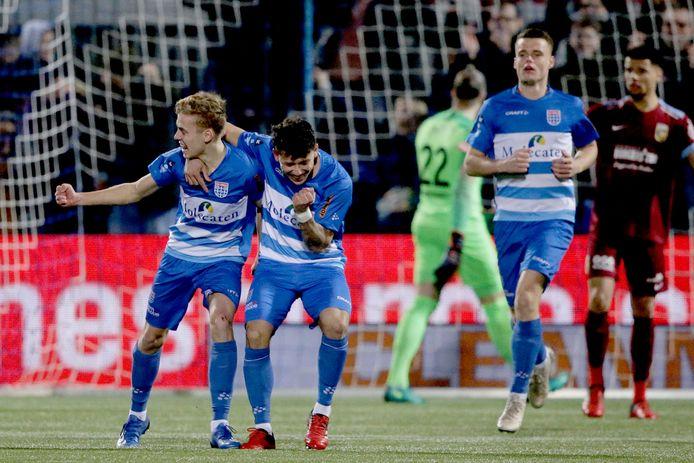 PEC viert de goal van Gustavo Hamer.