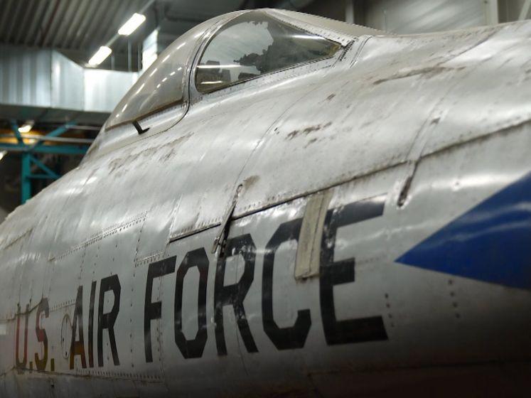 Crowdfunding voor laatste F100 gevechtsstraaljager: 'Ging voor het eerst door geluidsbarrière'