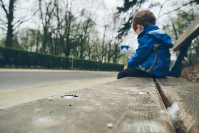 Foto van een willekeurig kind.