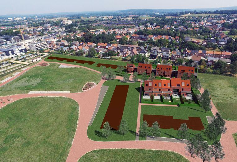 Verkoop eerste 38 huizen molenveld van start herent for Huizenverkoop site