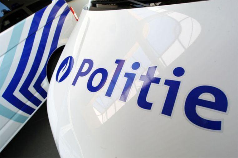 De politie Kouter deed de vaststellingen bij het ongeval.
