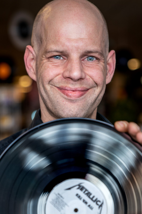 Pierre van der Zande van The Record Hustler.