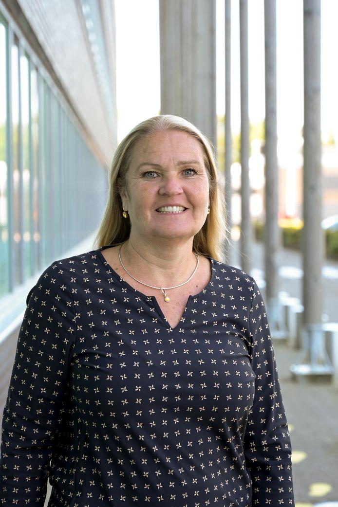 Birgitta Weimar, directeur van verpleeghuis Oudshoorn in Alphen.