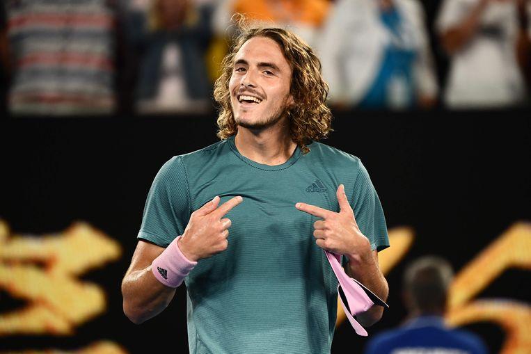 Federer ziet met Tsitsipas glimp van zijn verleden