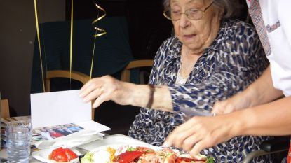 Honderdste verjaardag in afzondering maar met kreeft voor Josephine De Mol