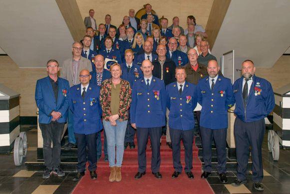 Eretekens politie Blankenberge/Zuienkerke