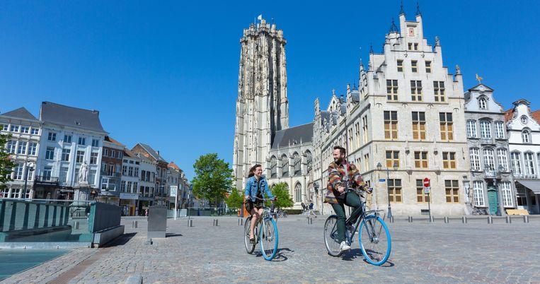 De swapfiets doet vandaag zijn intrede in Mechelen.